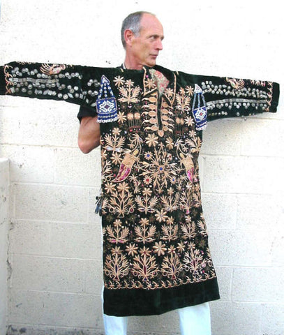 1930'S AFGHANISTAN MAN'S WEDDING SHIRT - FREE SHIPPING