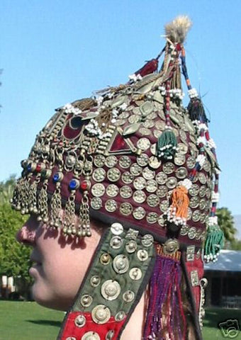 Old traditional Turkestan Wedding headdress
