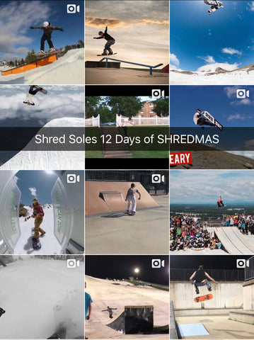 Shred Soles 12 Days of ShredMas