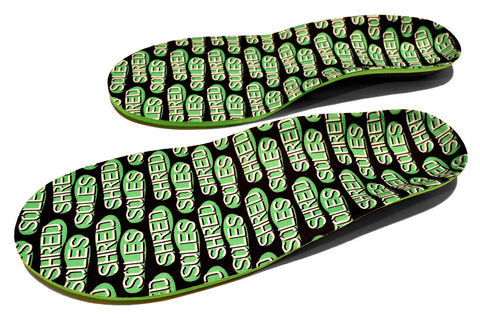Shred Soles Skateboarding Insoles