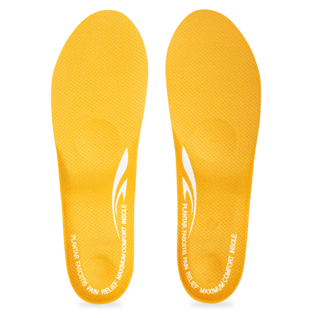 bf909896fd ... Plantar Fasciitis and Heel Spur Pain Relief Full Length Orthotic Insole  with Thick Gel Cushioning ...