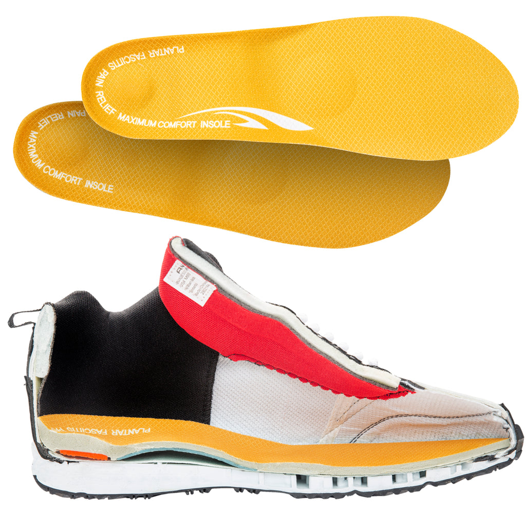 d4d71f40dc Plantar Fasciitis and Heel Spur Pain Relief Full Length Orthotic Insol    Shred Soles