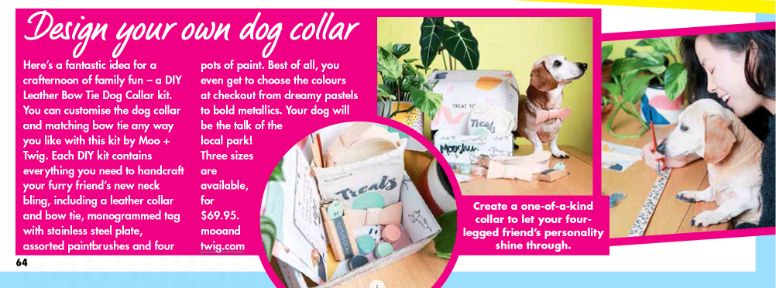 MOO+TWIG: New Idea Magazine, Dog Harnesses, Dog Accessories, Dog Collars