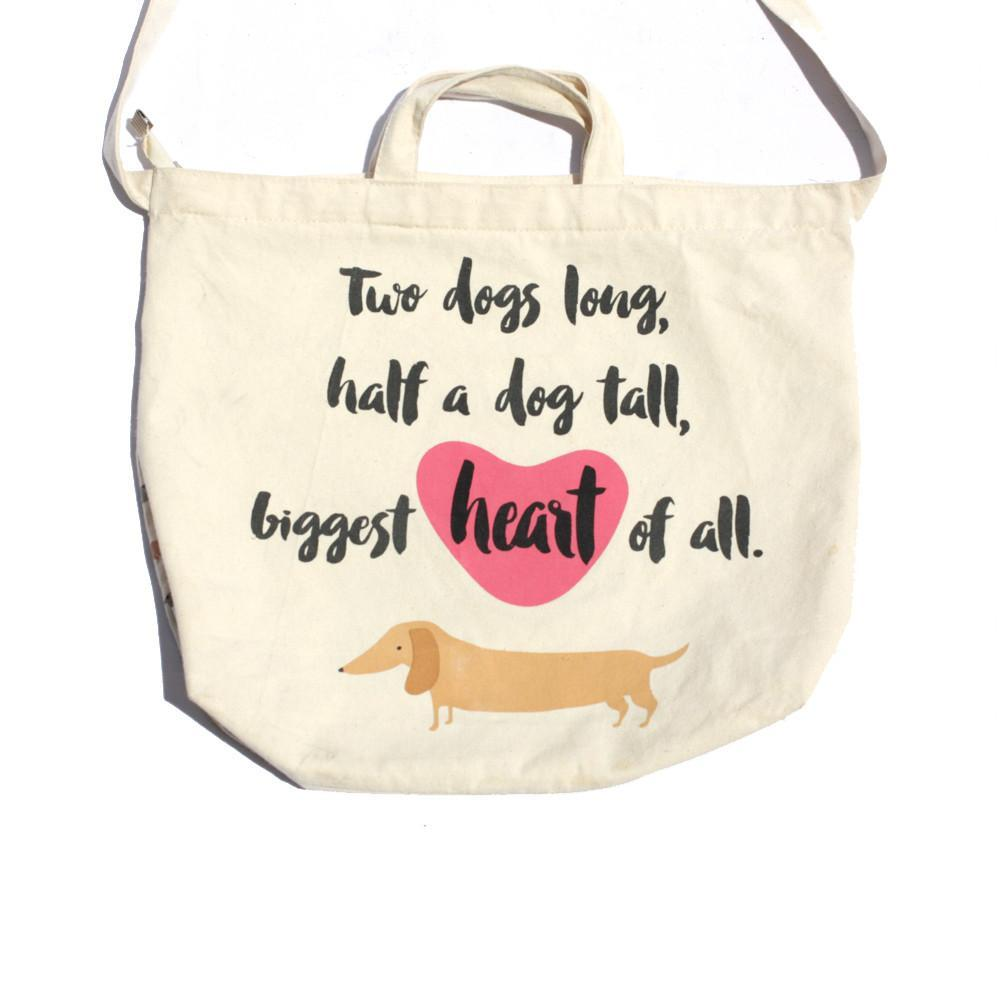 CARRY ME TOTE & SHOULDER BAG - Big Heart, Bags - MOO AND TWIG