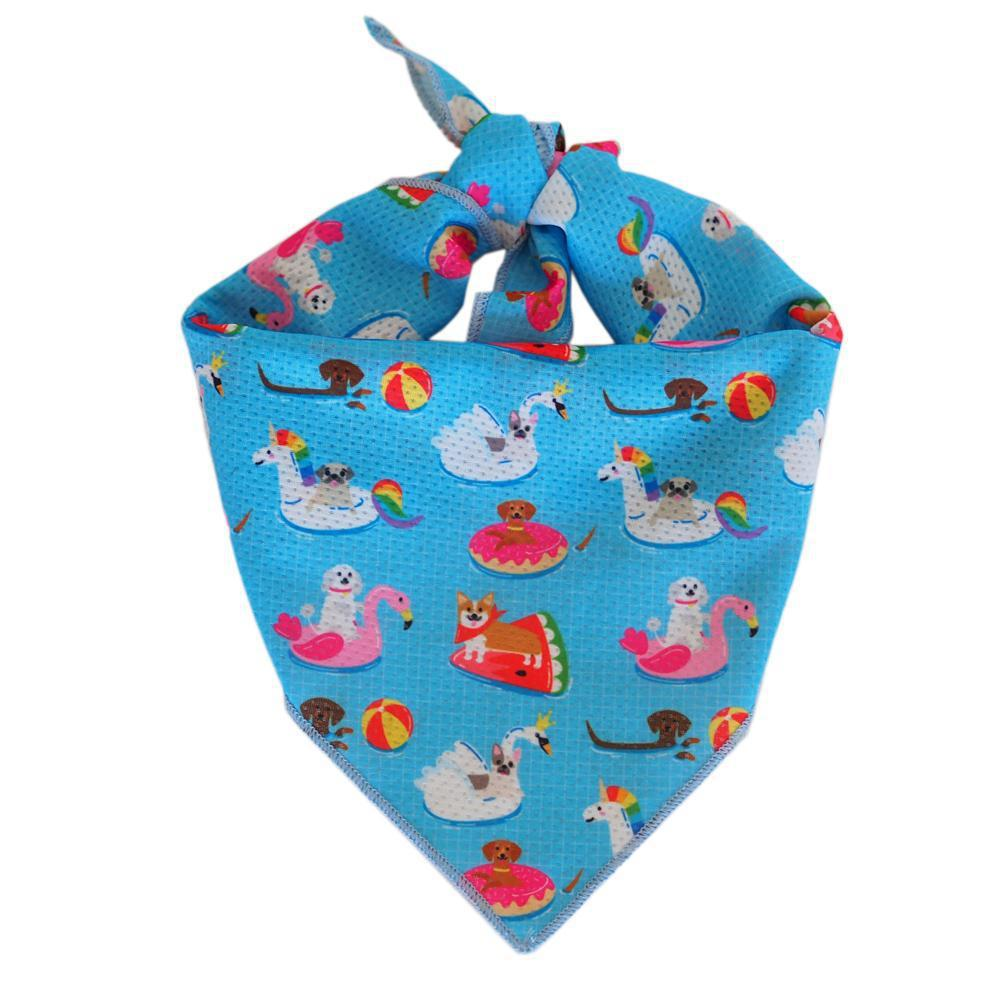 DOG BANDANA - Pool Pawty (Limited Edition), Bandana - MOO AND TWIG