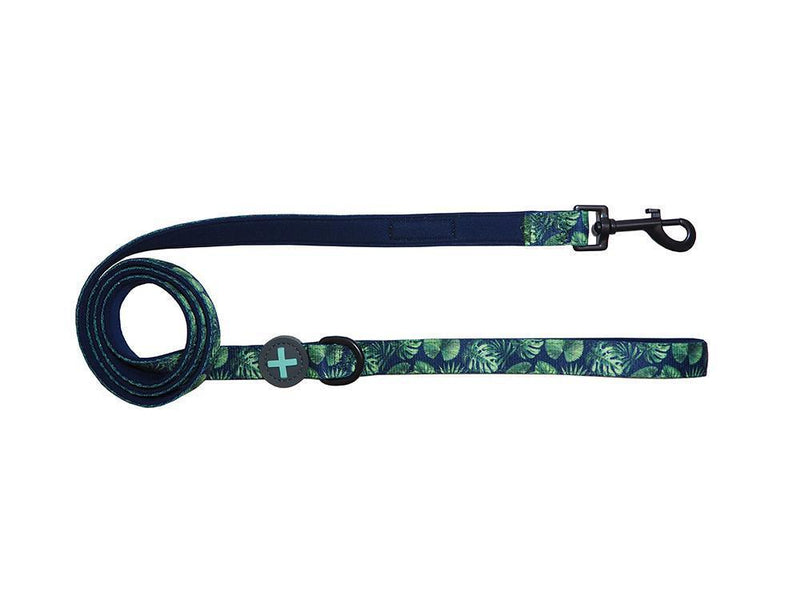 Tropical Print Neoprene Comfort Dog Leash