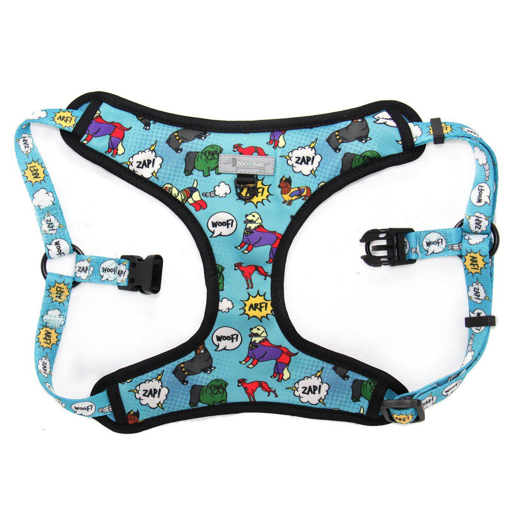 Superhero Superdog Step In Dog Harness