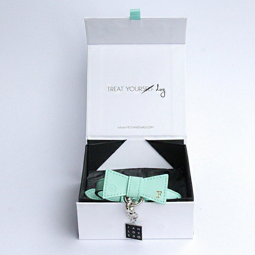 THE WREN Bow Tie Collar, Collars - MOO AND TWIG