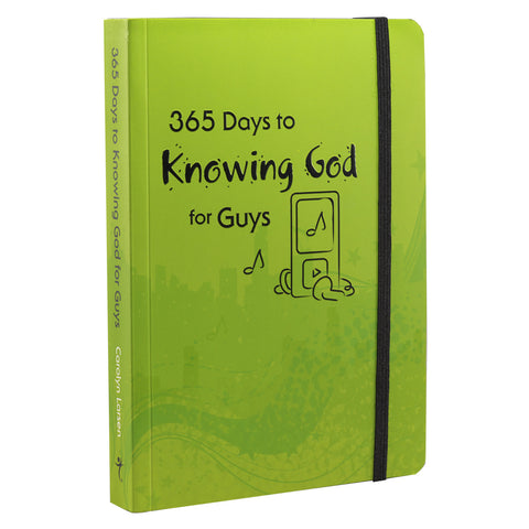 365 Days to Knowing God for Guys - Embossed Paperback - DKG001 Christian Art Gifts