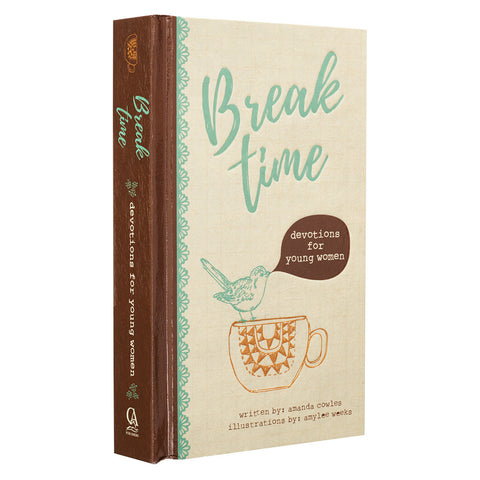 Break Time Devotional for Young Women - Hardcover - GB114 Christian Art Gifts