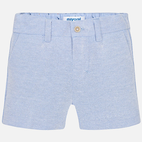 Baby Boy Oxford Shorts - Mayoral 1274- Spring 2018