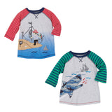 Pirate & Shark T-Shirt - Mud Pie