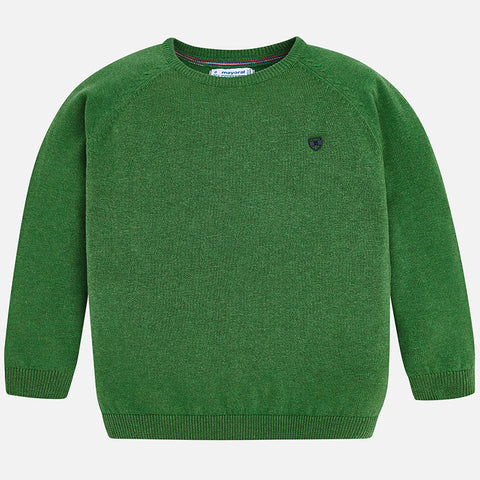 Boy Sweater in Dill - Mayoral 323 -Fall 2018