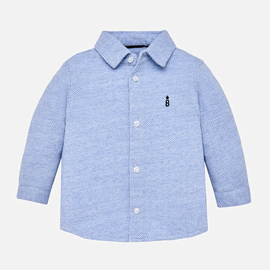 Boy Button Down Light Blue Mayoral 2134