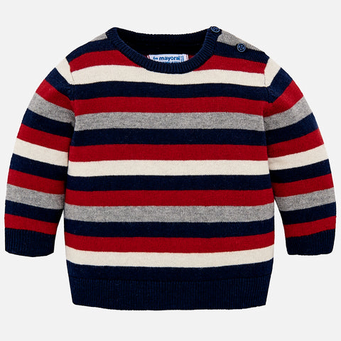 Boy Goji Berry Striped Sweater Mayoral 2322