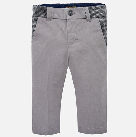 Boy Castle Grey Slim Chino Pants - Mayoral 2560