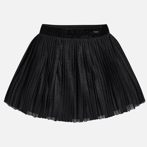 Black Pleated Skirt - Mayoral Girl 4912 -Fall 2018