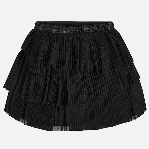 Black Pleated Skirt - Mayoral Tween Girl 7902