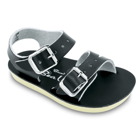 Sun San Sea Wee Salt Water Sandals - Black