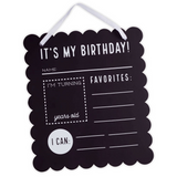 Birthday Chalkboard Sign - Mud Pie