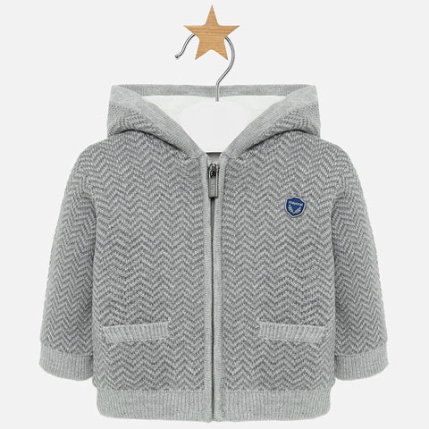Woven Knit Jacket Infant Boys Mayoral  2311  Fall 2019