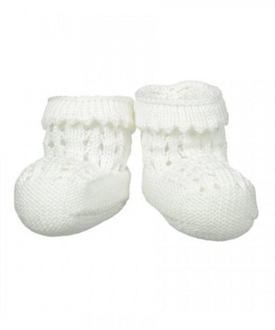 Pointelle Bootie in Gift Box - 2608 Jefferies Socks