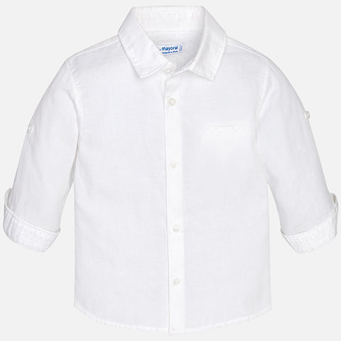 Boy Linen Buttondown - Mayoral 117