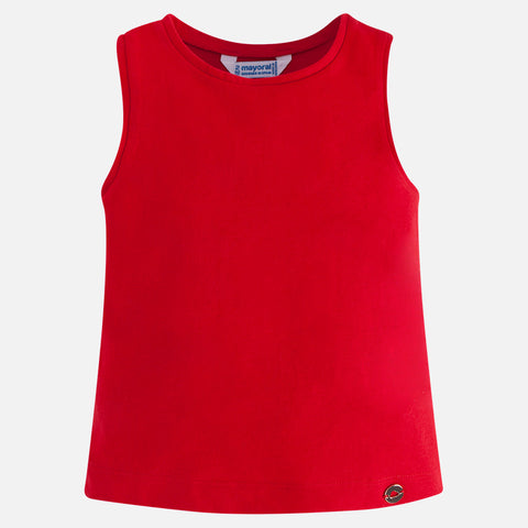 Mayoral Basic Tank in Red -181 Mayoral Spring 2018