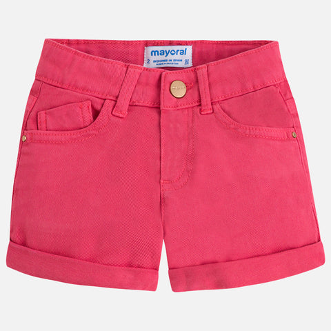 Twill Shorts Girls 234 (75 Petunia) Mayoral Spring 2020