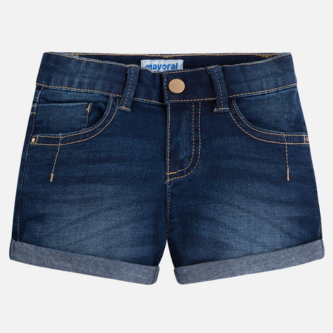 Denim Shorts Girls 236 (63 Medium Dark) Mayoral Spring 2018