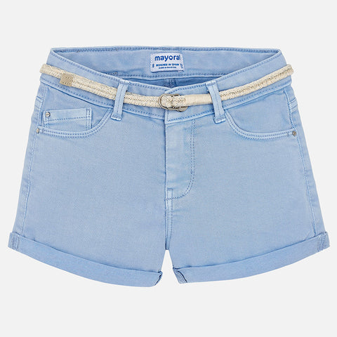 Twill Shorts Tween Girl 275 (10 Blue)  Mayoral Spring 2020