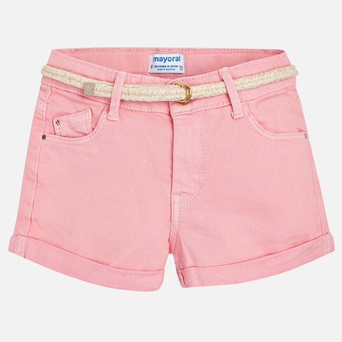 Twill Shorts Tween Girl 275 (12 Blush Pink)  Mayoral Spring 2020