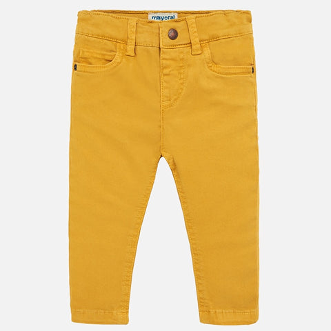Mustard Slim Fit Pant - Mayoral Boy 563 - Fall 2019