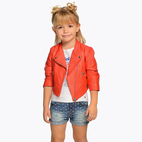 Denim Shorts With Stars Girl Mayoral 3204 -Spring 2020