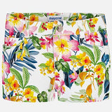Tropical Patterned Short Girl Mayoral 3210 - Spring 2020