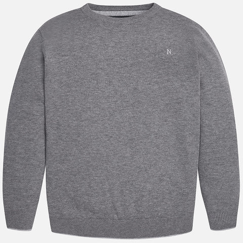 Grey Sweater Big Boy 354 -  Mayoral