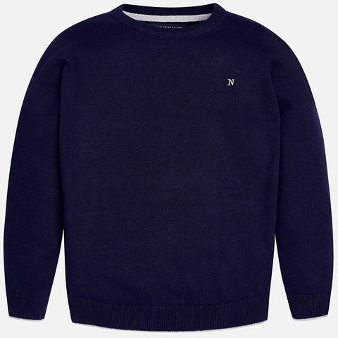 Navy Sweater Big Boy 354 -  Mayoral