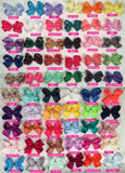 Basic 4-inch Solid Color Hair Bow