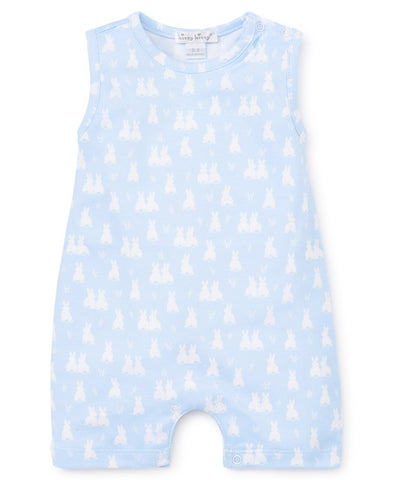 Kissy Kissy Sleeveless Playsuit in Cushy Cottontails (Boys) - Spring 2019