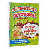 Super Heroes Devotional - Embossed Hardcover - KDS546 Christian Art Gifts