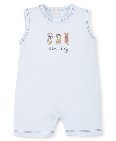 Kissy Kissy Sleeveless Playsuit in Salty Dogs (Boys)