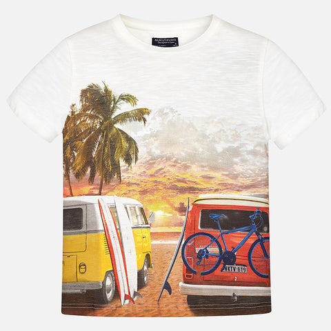 Short Sleeve Beach Van T-shirt - Mayoral 6086