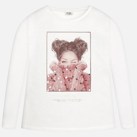 L/S Dream Tshirt Tween Girl 7061 -  Mayoral