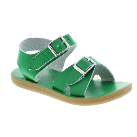 Footmates Tide Sandal in Kelly Green - Badorf Kids