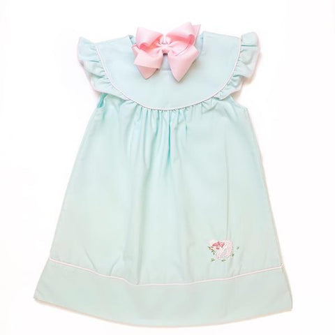 Mint Lamb Dress - Sweet Dreams  594