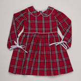Sandra Tartan Dress - The Oaks Apparel 5528