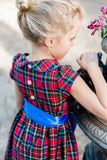 Wales Plaid Empire Dress - Bailey Boys J Bailey Fall 2019 5491