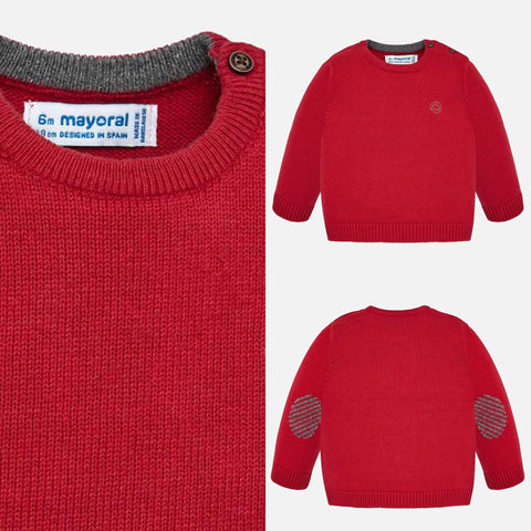 Red Sweater - Mayoral Boy 351 - Fall 2019