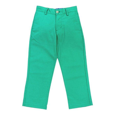 Golf Green Twill Champ Pant - Bailey Boys J Bailey Fall 2019 703