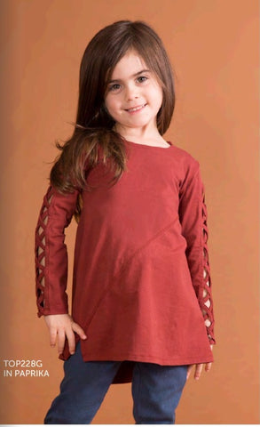 Cut It Out Toddler Tunic in 2 colors - Simply Noelle